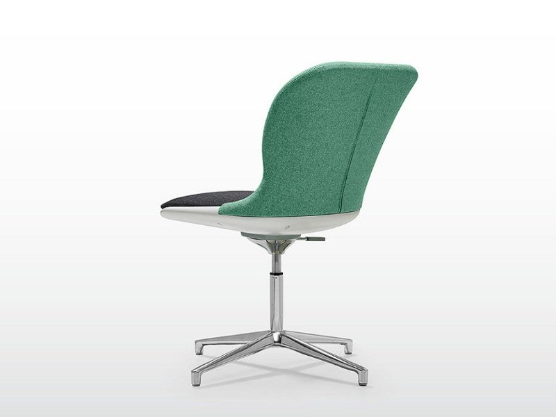 Swivel task chair with 4-Spoke base MISTY | Task chair by Quinti Sedute