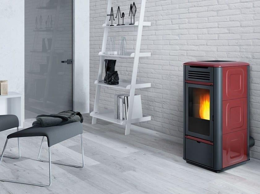 Pellet Heating stove MITO IDRO by EDILKAMIN