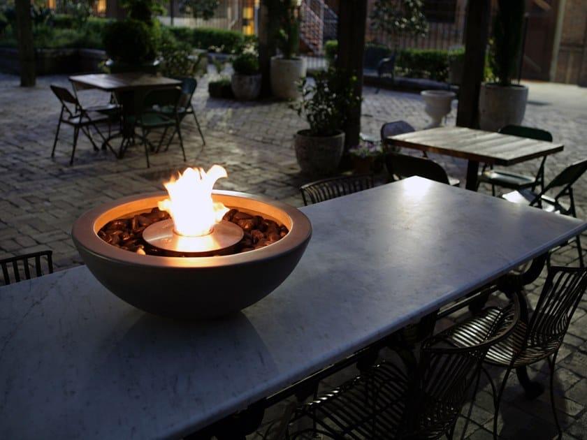 Chimenea exterior de pie de bioetanol MIX 600 by EcoSmart Fire