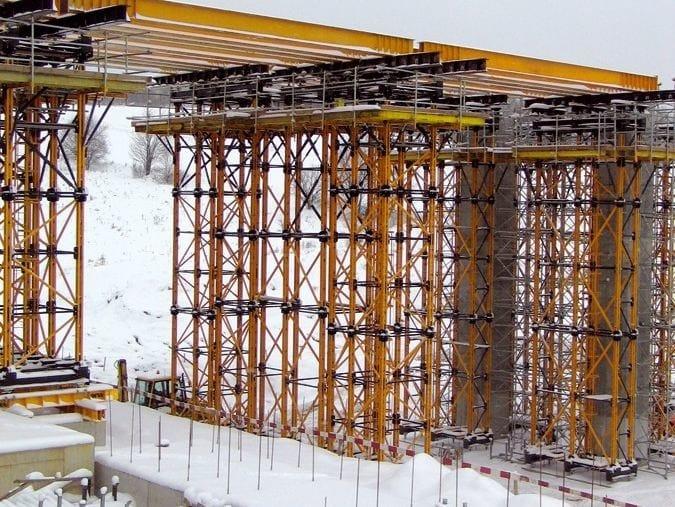 Heavy duty shoring tower MK by ULMA Construction