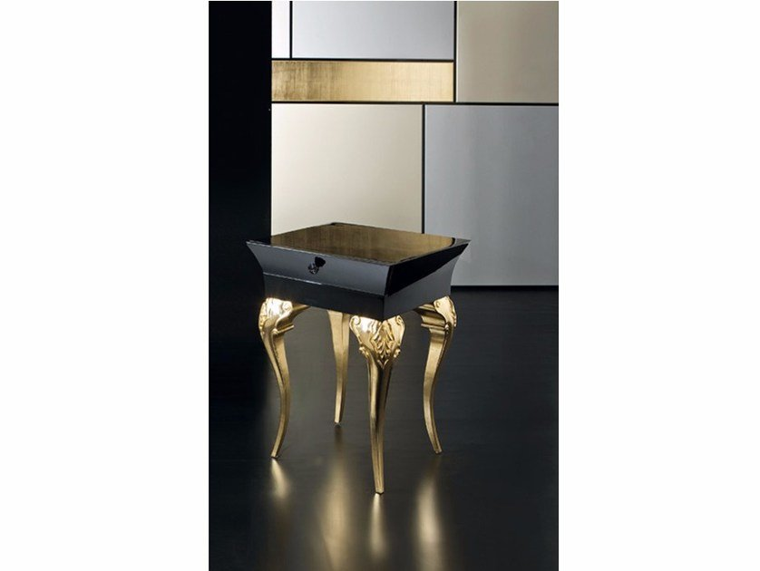High side table with storage space MK151 | Coffee table by Rozzoni
