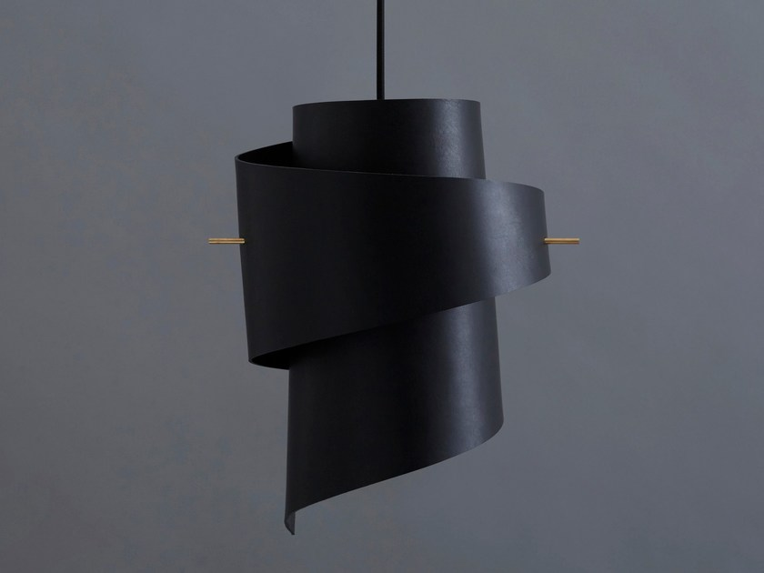 In Black Lampada Ml01 Original Moijn Mano Leather A Sospensione Pelle Fatta Led m0PyNOvw8n