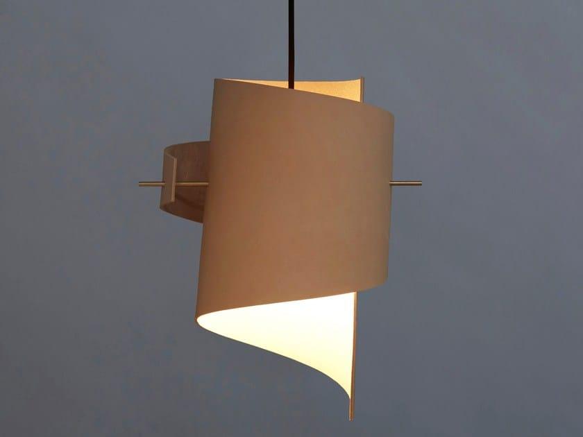 Ml01 Fatta Leather Mano Sospensione Led A Original Lampada Nature Moijn In Pelle kZOXPiu