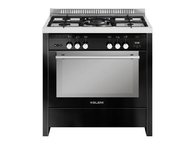 Steel cooker ML912RBL | Cooker by Glem Gas
