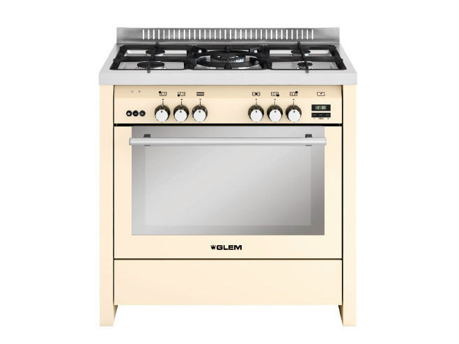 Steel cooker ML912RIV | Cooker by Glem Gas