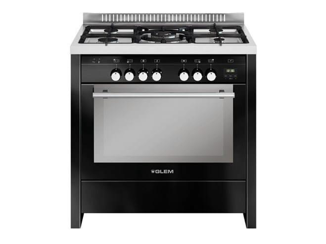 Steel cooker ML912VBL | Cooker by Glem Gas