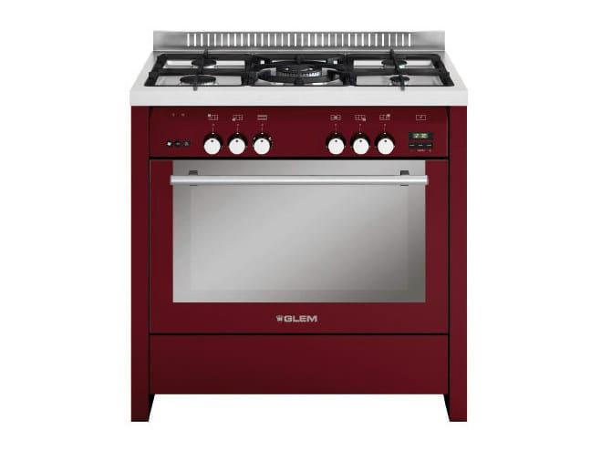 Steel cooker ML912VBR | Cooker by Glem Gas