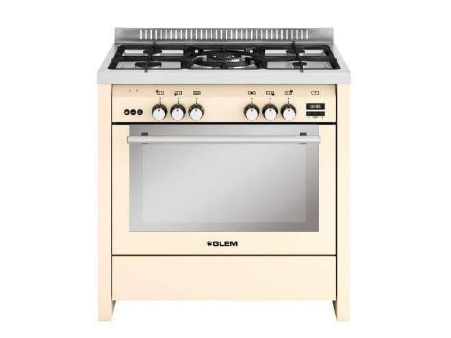 Steel cooker ML912VIV | Cooker by Glem Gas