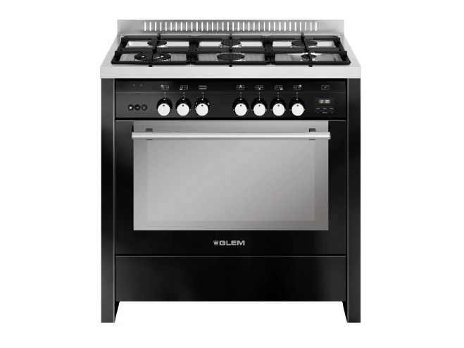 Steel cooker ML922RBL   Cooker by Glem Gas