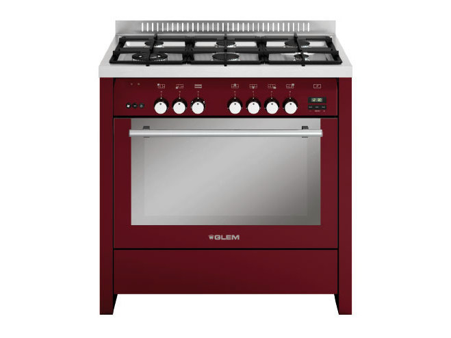 Steel cooker ML922RBR   Cooker by Glem Gas