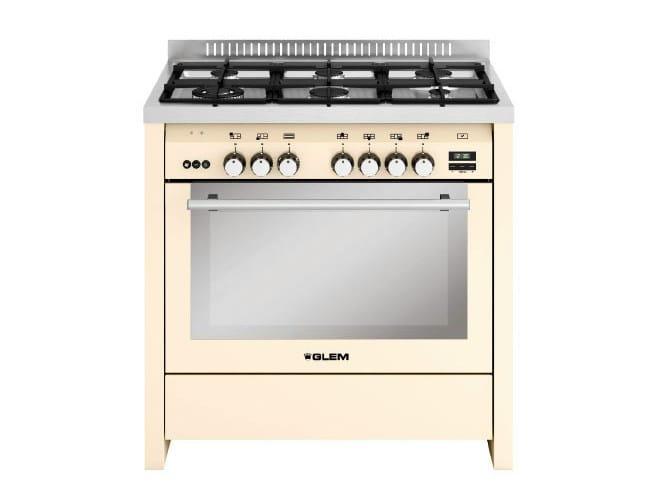 Steel cooker ML922RIV | Cooker by Glem Gas