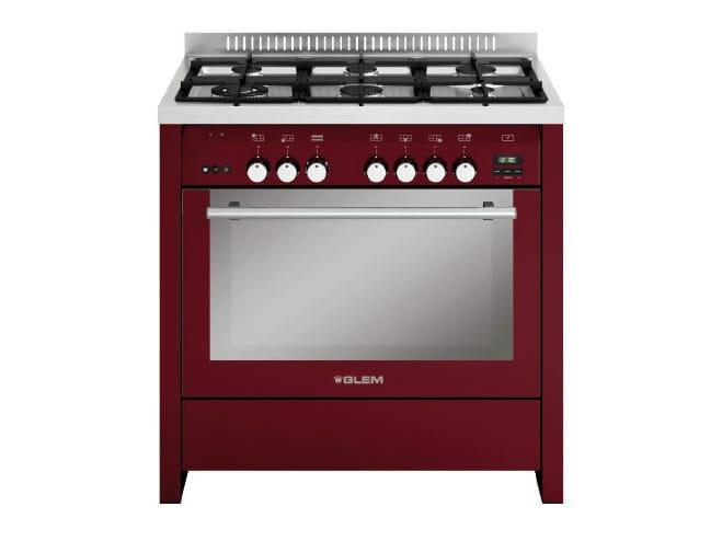 Steel cooker ML922VBR | Cooker by Glem Gas
