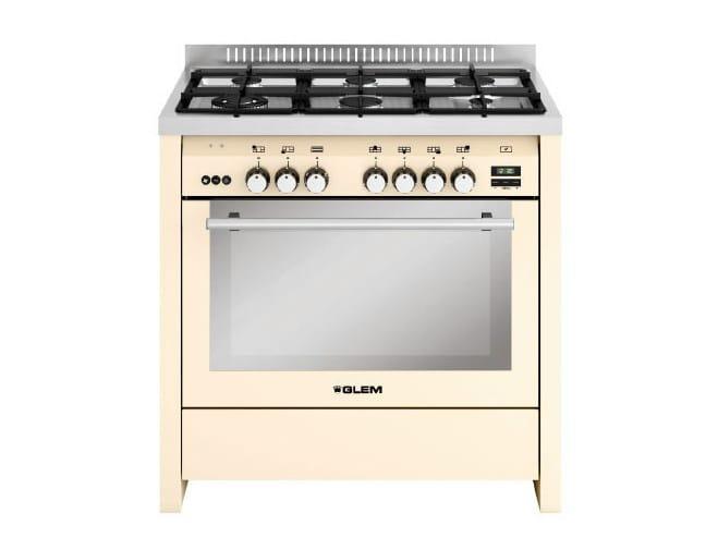 Steel cooker ML922VIV   Cooker by Glem Gas