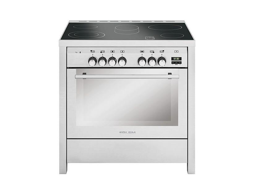 Steel cooker ML924VI | Cooker by Glem Gas