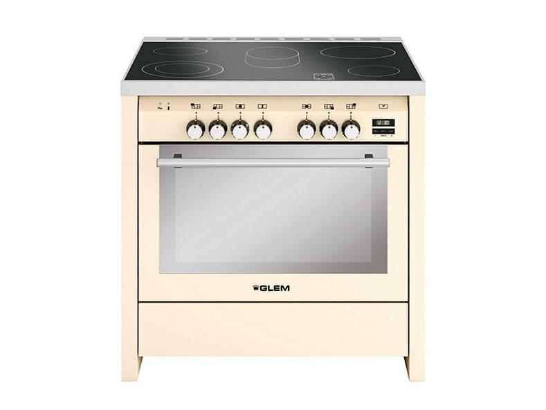 Steel cooker ML924VIV | Cooker by Glem Gas
