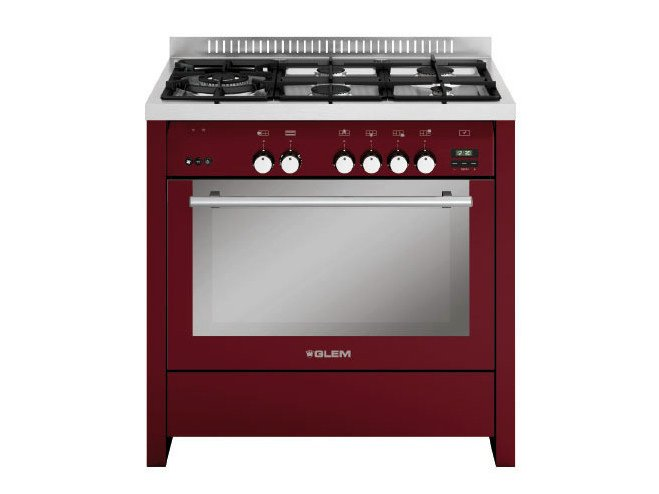 Steel cooker ML944RBR   Cooker by Glem Gas