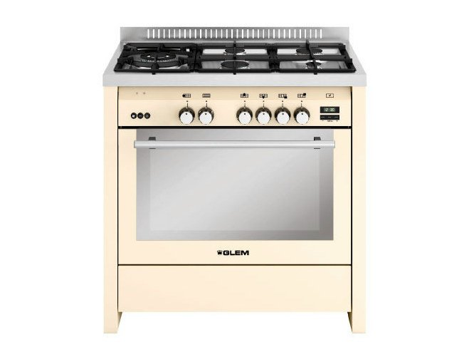 Steel cooker ML944RIV | Cooker by Glem Gas