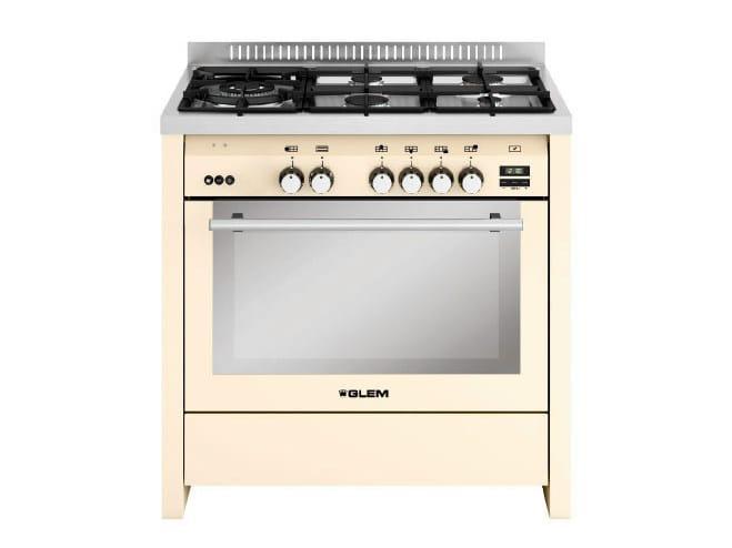 Steel cooker ML944VIV | Cooker by Glem Gas