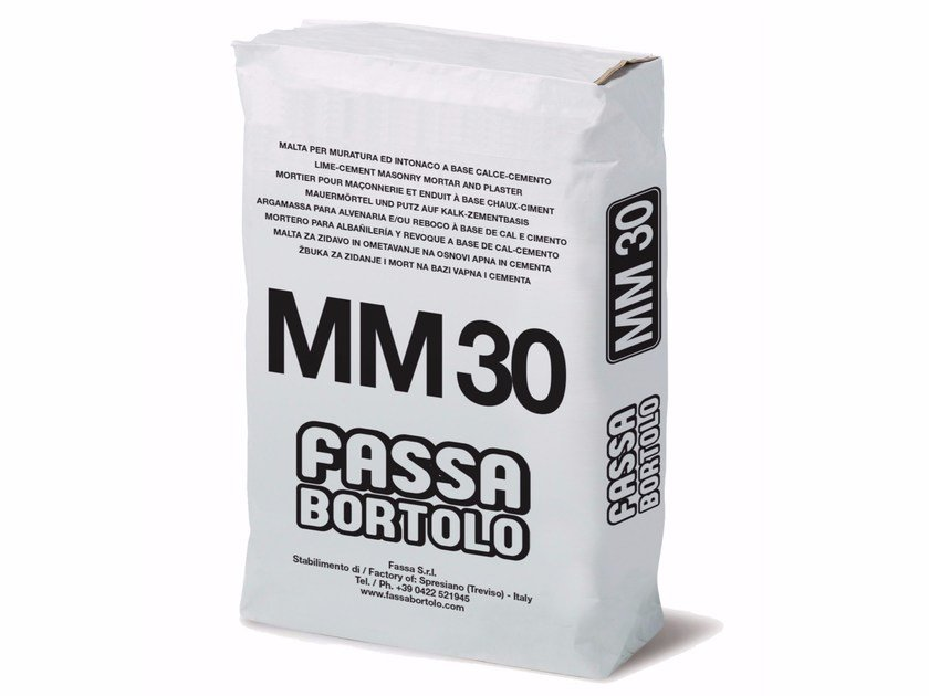 Mortar for masonry MM 30 by FASSA