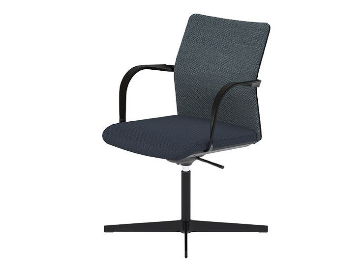 Height-adjustable conference/meeting chair with X-base MN1 | Conference/meeting chair by Howe