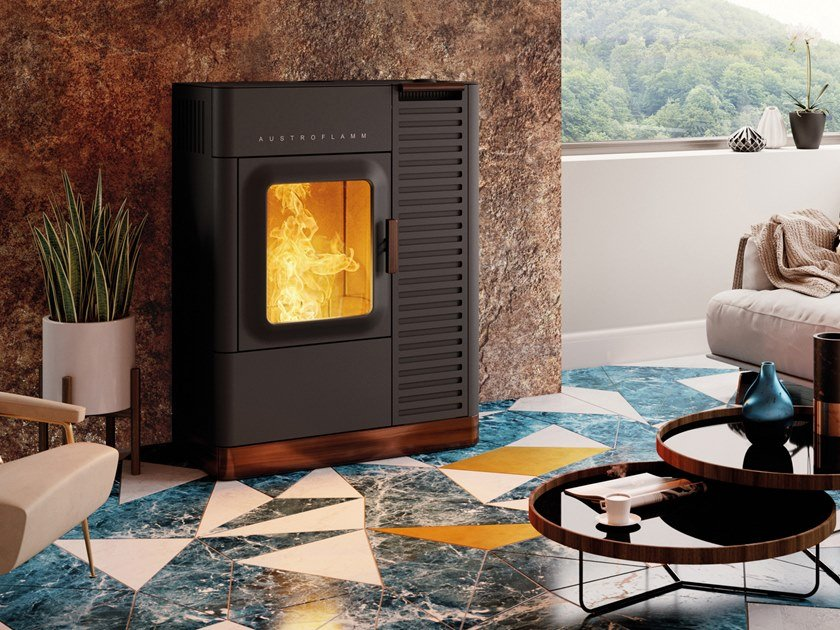 Pellet stove MO DUO by Austroflamm