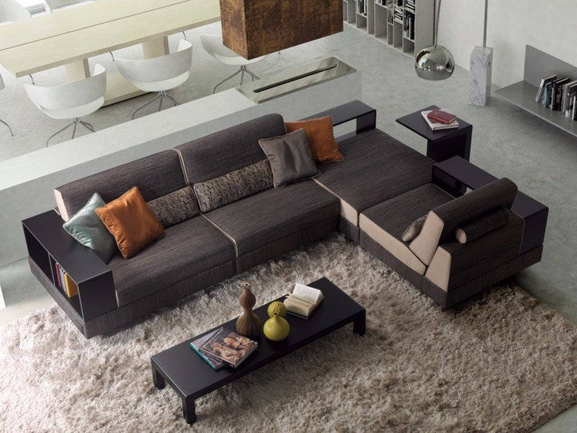 Moat Corner Sofa By Borzalino Design