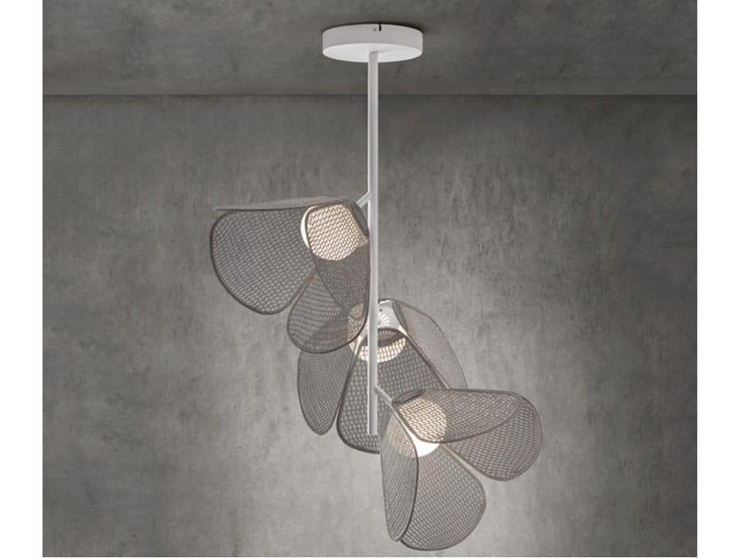 LED aluminium ceiling lamp MOD PF/73/3L by BOVER