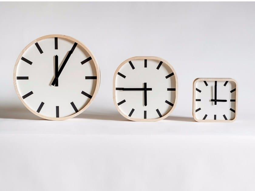 Table-top / wall-mounted clock MOD by Tacchini Edizioni