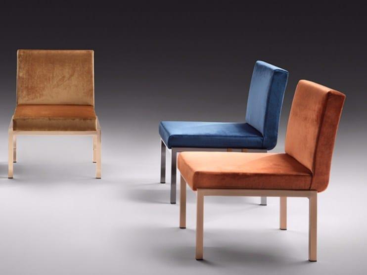 Upholstered guest chair MODA' | Easy chair by F.lli Orsenigo