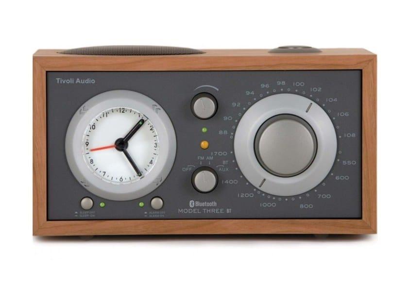 Radio Bluetooth wireless in legno MODEL THREE BT by Tivoli Audio