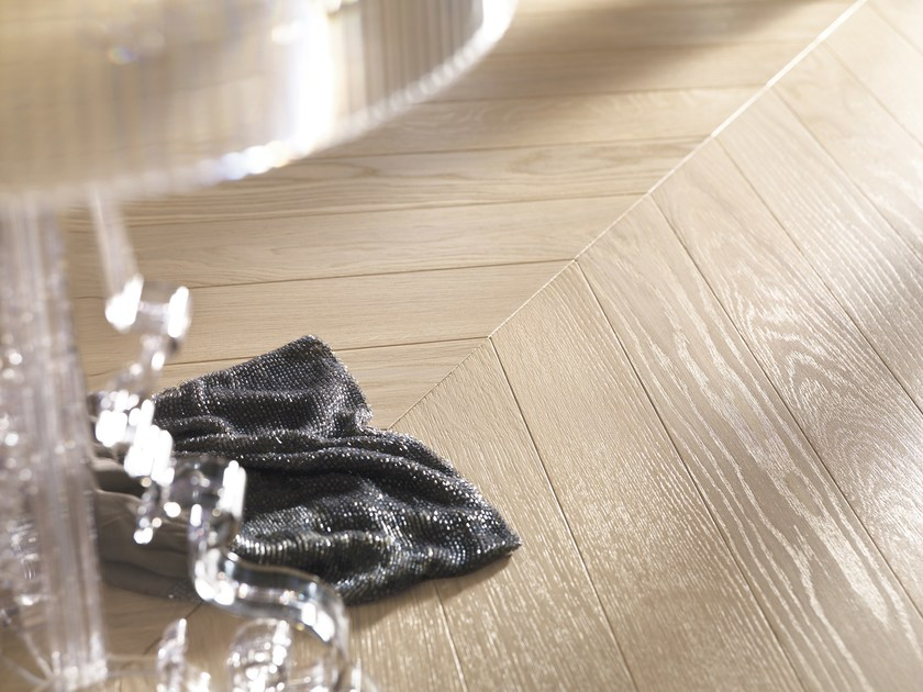Prefinished brushed European Oak parquet, 2 layers VIENNA | Oak parquet by Alma by Giorio