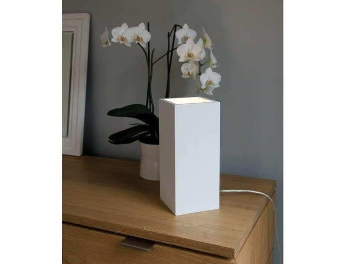 Gypsum table lamp MODENA by GESSO