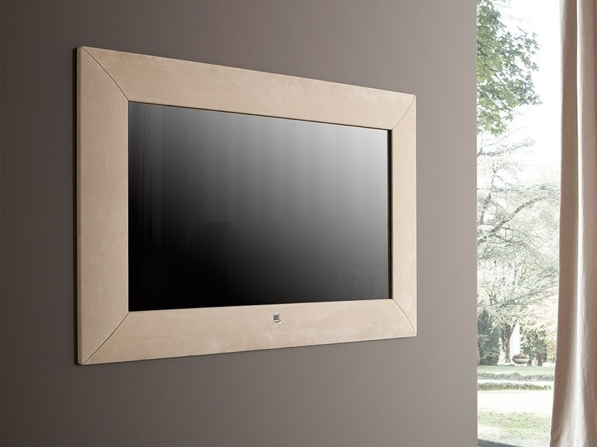 Rectangular wall-mounted framed mirror MODERN by Chaarme