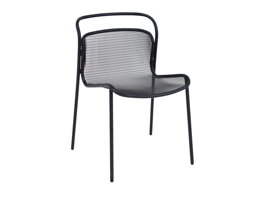Steel garden chair MODERN | Chair by emu