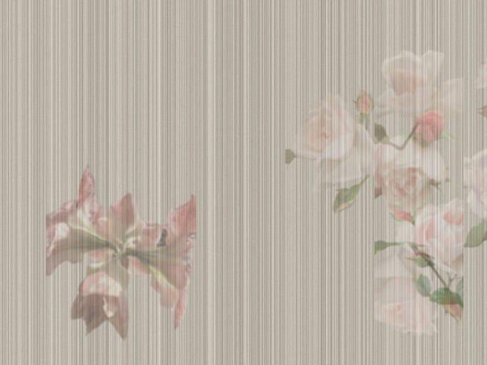 Blumen- Tapete MODERN GARDEN By Tecnografica Italian Wallcoverings