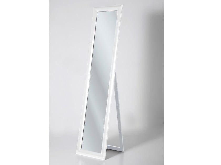 Rectangular framed mirror MODERN LIVING WHITE by KARE-DESIGN