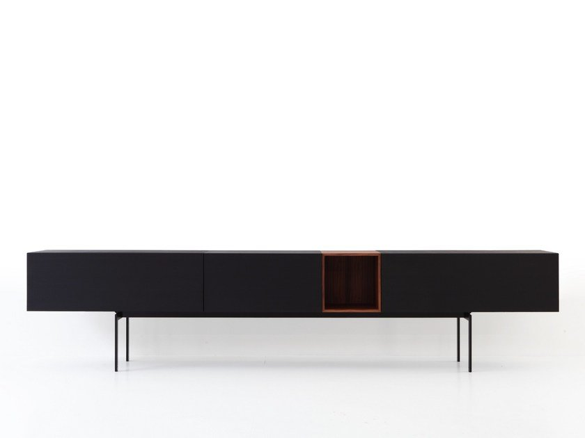 Lacquered sideboard MODERN PIEDE-BRIDGE by Porro