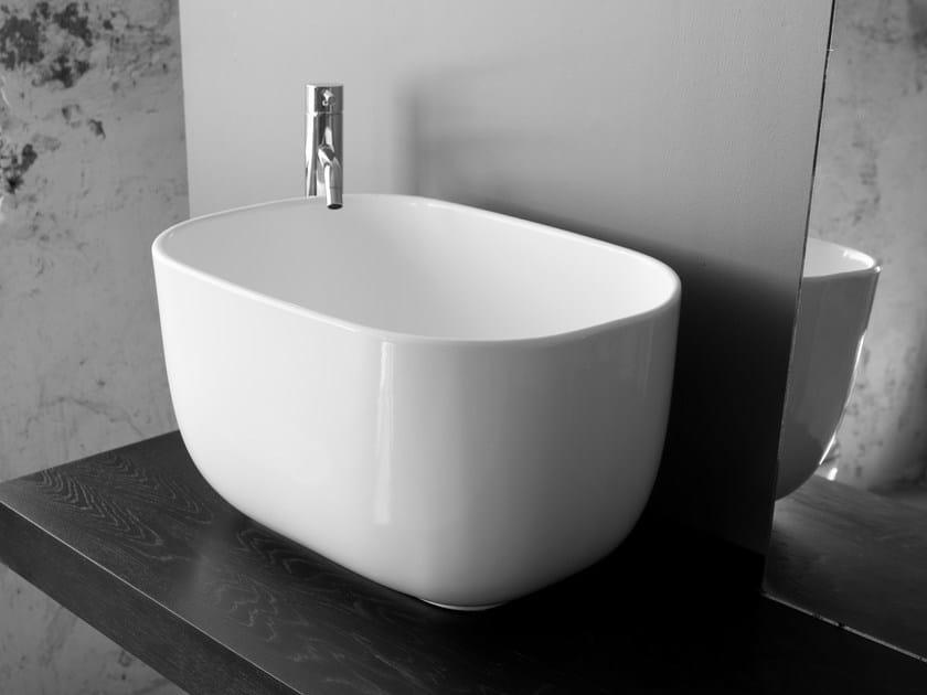 Lavabo da appoggio in ceramica BOWL 1 by BLEU PROVENCE