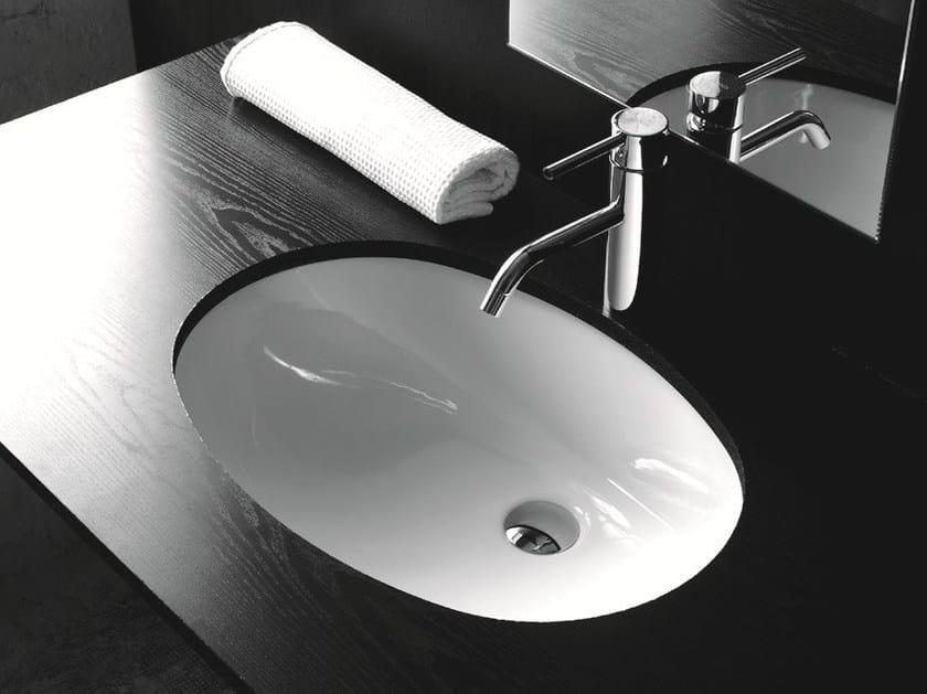 Lavabo da incasso sottopiano ovale in ceramica BP020 | Lavabo by BLEU PROVENCE