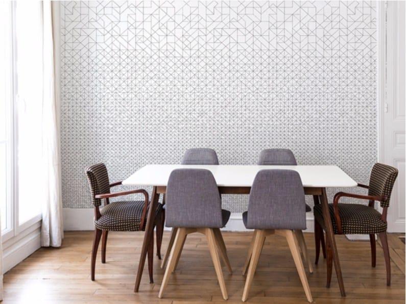 Papier peint à motifs géométriques MODULAR by Bien fait