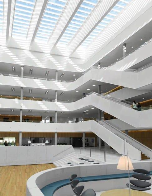 Finestra da tetto in acciaio e vetro modular skylights by for Tetto in vetro prezzi