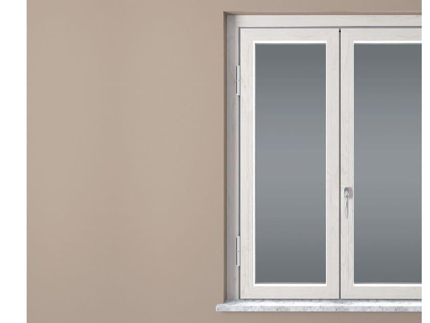 Aluminium and wood security window MODULBLOCK KLIMA | Aluminium and wood window by Sabatino Liberato