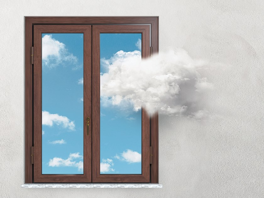 Wooden security window MODULBLOCK KLIMA   Wooden window by Sabatino Liberato