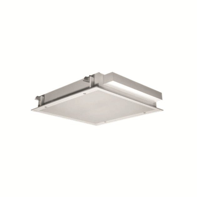 Recessed fluorescent Lamp for false ceiling INLUX ITALIA - MODULO 4X14 IP65 by NEXO LUCE