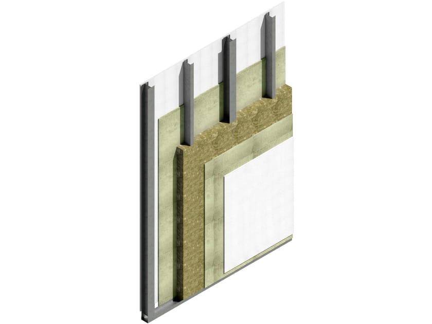 Exterior insulation system / prefabricated wall panel MODULO JJ by Jendy Joss