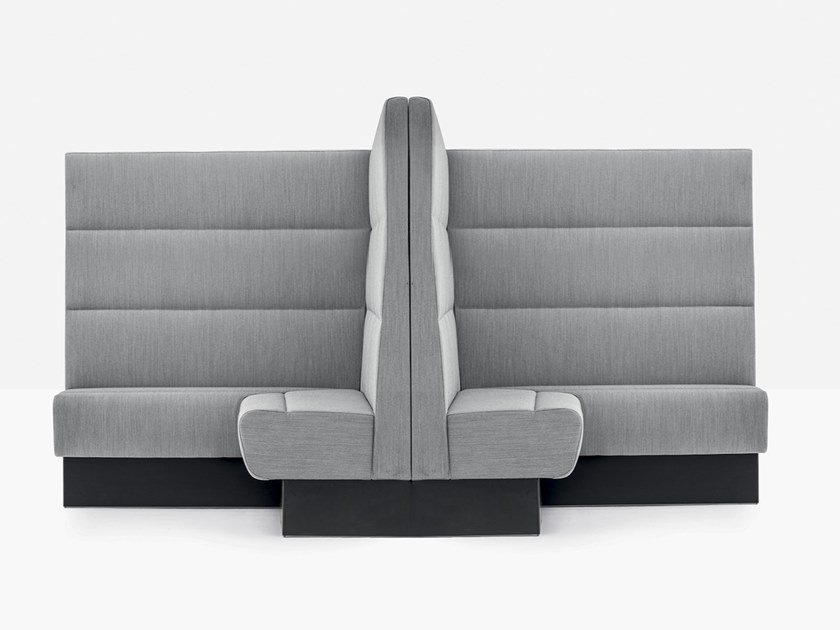 Sectional high-back sofa MODUS MDAB by Pedrali