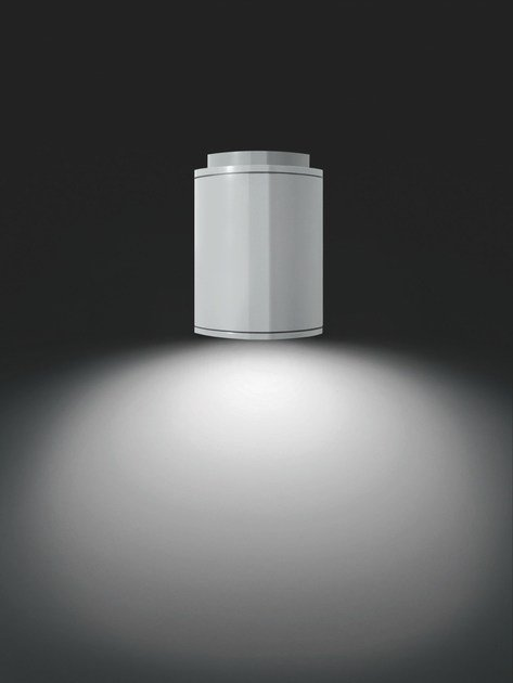 Extruded aluminium ceiling lamp MOK F.2759 by Francesconi & C.