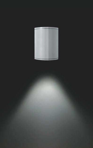 LED aluminium wall lamp MOK F.6895 by Francesconi & C.