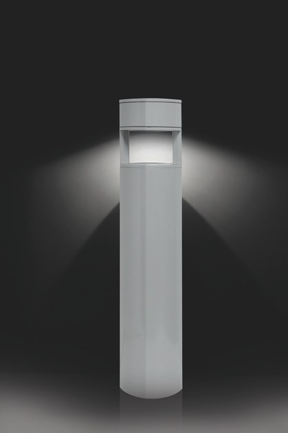 Aluminium bollard light MOK F.8069 by Francesconi & C.