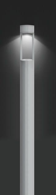 Aluminium garden lamp post MOK F.8081 by Francesconi & C.